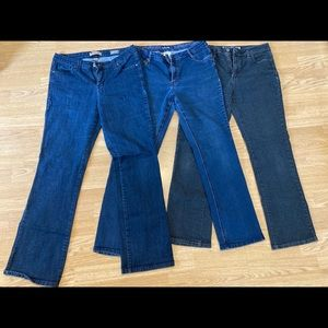3 Womens Jeans (Size 12)